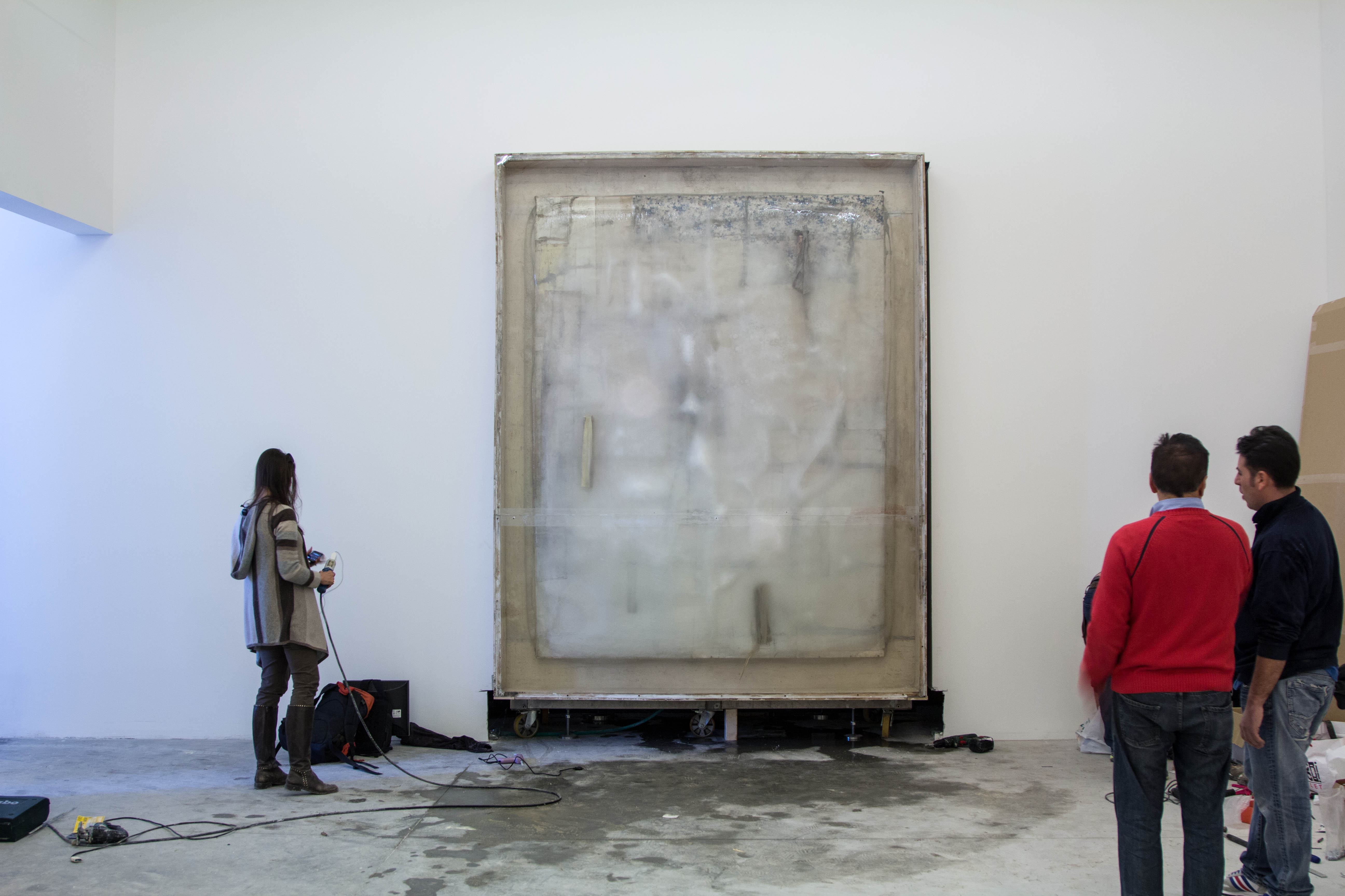 FREEZING PAINTING – LAWRENCE CARROLL – directed by Luigi Scaglione