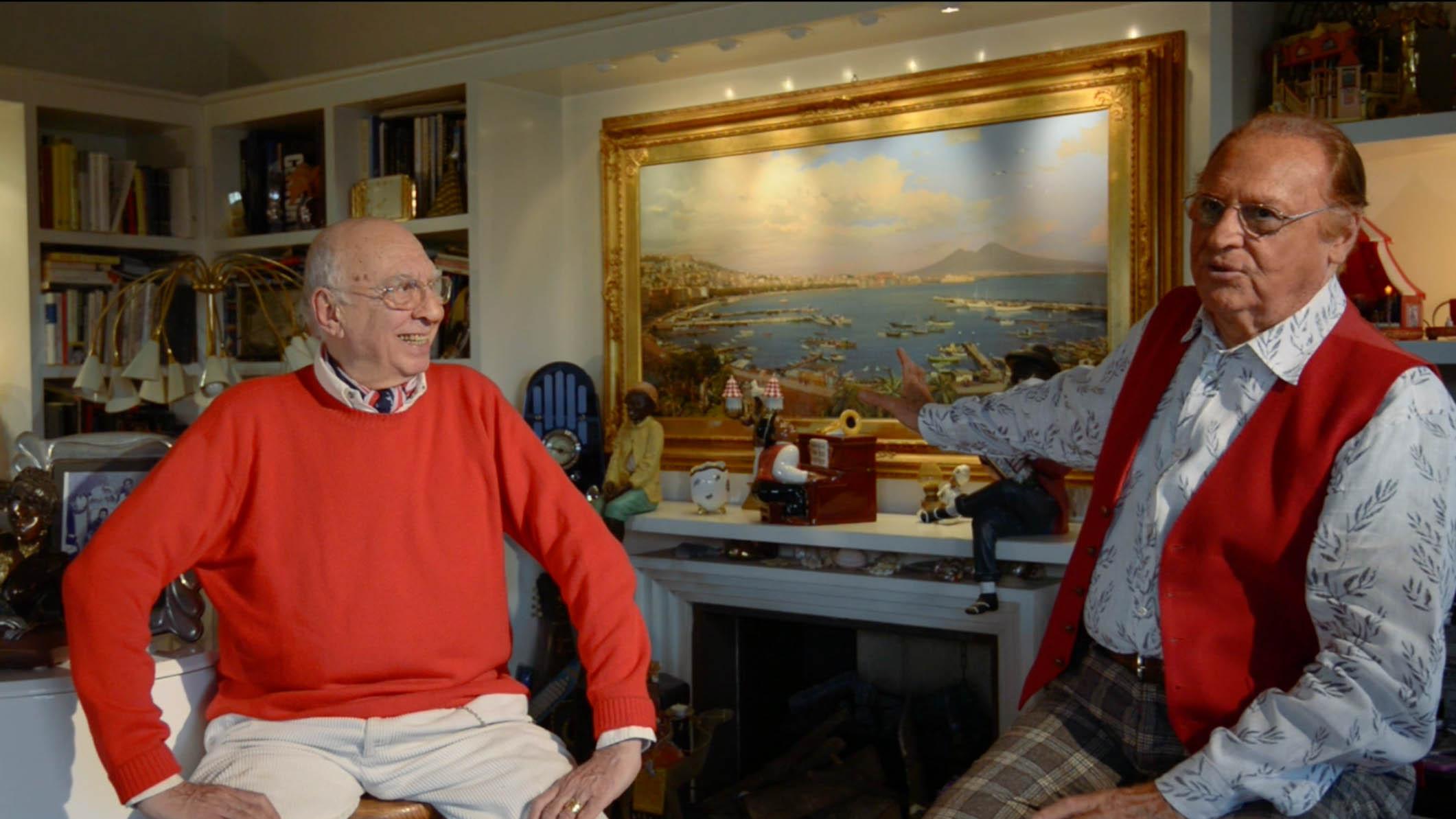 Renzo Arbore e Gerardo Gargiulo