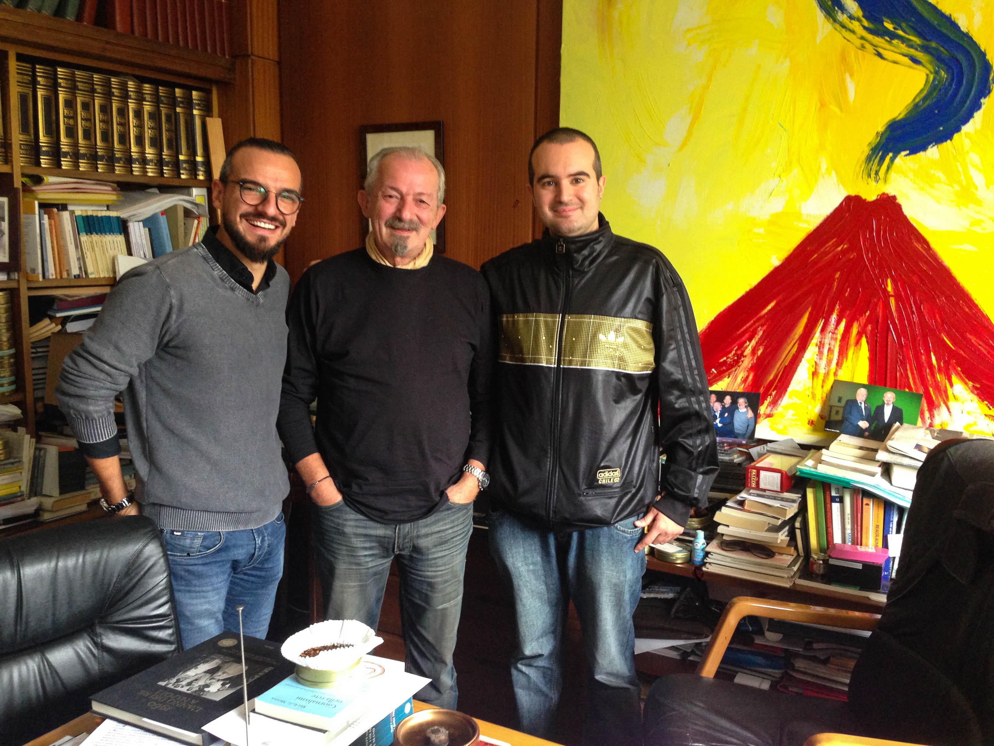 Direttore Rai di Napoli Francesco Pinto
