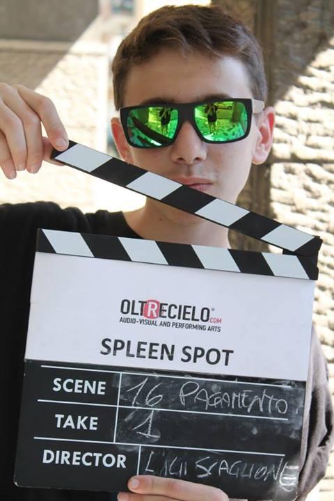 Spleen Spot - sul set